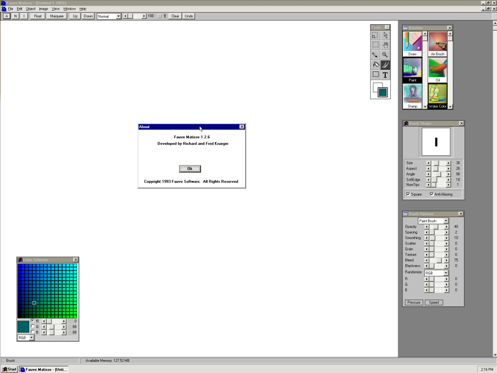 Fauve Matisse 1.2.6 Screenshot