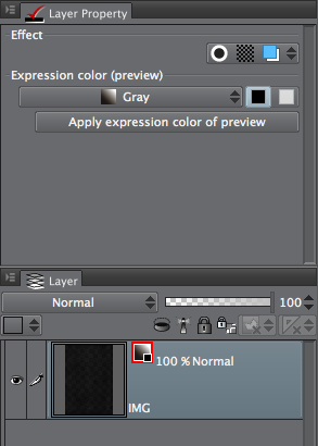 Color Expression has to be baked...