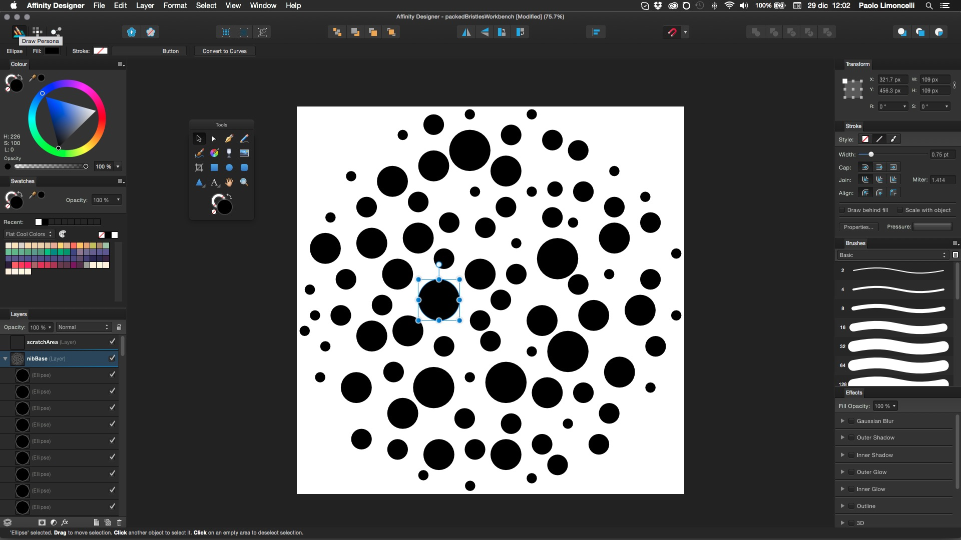 how to create a collage affinity designer